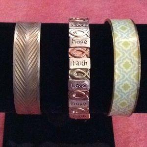 Jewelry - Bundle of three bracelets
